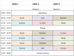 Der Stundenplan